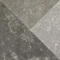 24.7*24.7 TRAKT GRAFIT INS MAT, akmens masės dekoruota plytelė