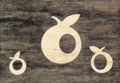 25*36 D-TOSCANA BRAZ APPLE, dek. tile