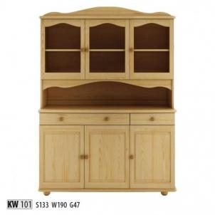 Vitrina KW101 Wooden display case