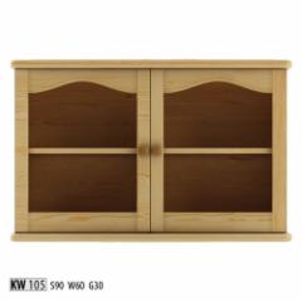 Vitrina KW105 Wooden display case