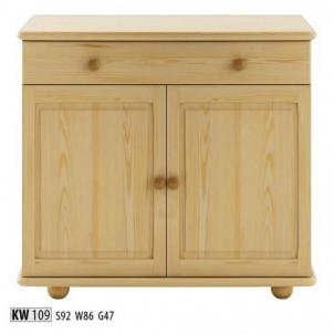 Vitrina KW109 Wooden display case