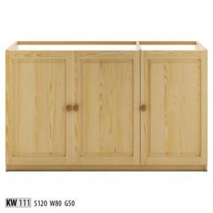 Vitrina KW111 Wooden display case