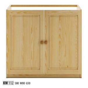 Vitrina KW112 Wooden display case