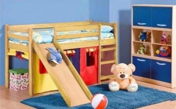 Vaikiška Lova NEO PLUS pušis Vaikiškos lovos
