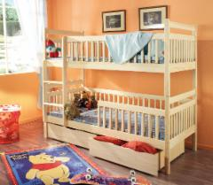 Double bed bed ALEKSANDER Children's beds