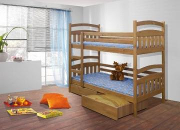 Vaikiška Dviaukštė Lova JAKUB Vaikiškos lovos