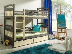 Vaikiška Dviaukštė Lova JAKUB II Vaikiškos lovos