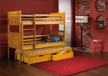 Vaikiška Trivietė Lova MAKSYMILIAN Vaikiškos lovos