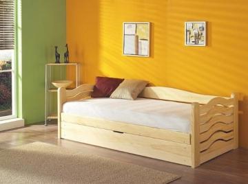 Vaikiška Lova OLGA (190 cm.) Vaikiškos lovos