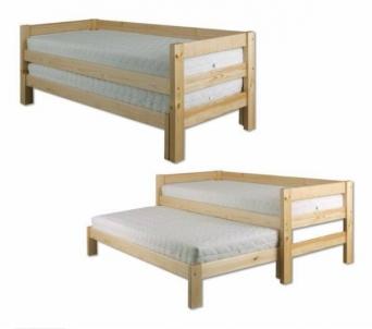 Vaikiška Dvivietė Lova LK134-S90-200,190 Vaikiškos lovos