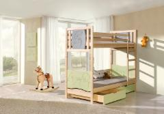 Double bed bed Trio Children's beds