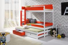 Triple bed Natu III Children's beds