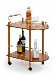 Svetainės Staliukas - baras BAR-4 Svetainės staliukai