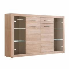 Chest of drawers for the living room CanCan KOM2D2S2W Chest of drawers for the living room