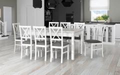Valgomojo Išskleidžiamas stalas Modena 2 Valgomojo stalai