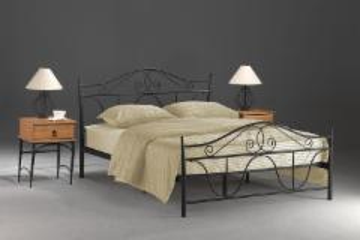 Miegamojo lova Denver 160 juoda Miegamojo lovos
