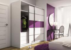 Skapis Dubaj Guļamistabas mēbeļu kolekcija Dubaj
