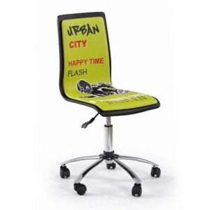 Kėdė FUN2 žalia Baldai sandėlyje.