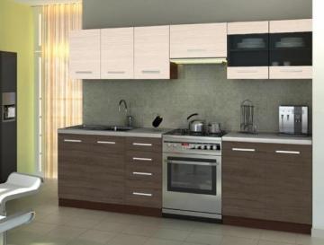 Virtuvės Komplektas AMANDA 2 - 260 cm Virtuvės baldų komplektai