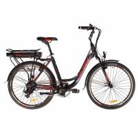 26 Elektrinis miesto dviratis Crussis e-City 1.1 17* Electric bicycles