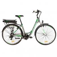28 Elektrinis miesto dviratis Crussis e-Country 1.8 17* Elektriniai dviračiai