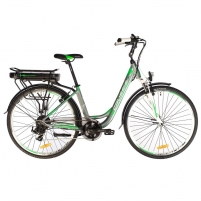 28 Elektrinis miesto dviratis Crussis e-Country 1.8 19* Electric bicycles