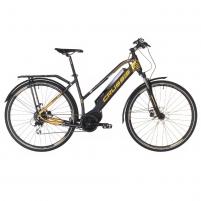 28 Moteriškas kroso elektrinis dviratis Crussis e-Savela 7.4 19* Elektriniai dviračiai