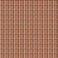29.8*29.8 MOZ BROKAT BROWN SZKLANA, mozaika, klijuoti Maxibond
