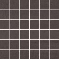 29.8*29.8 MOZ DOBLO NERO MAT (4.8*4.8) akmens masės mozaika Akmens masės apdailos plytelės