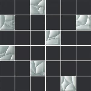 29.8*29.8 MOZ ESTEN GRAFIT/SILVER (4.8*4.8), mozaika