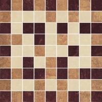 29.8*29.8 MOZ MISTRAL BEIGE MIX MAT, akmens masės mozaika