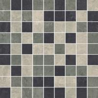29.8*29.8 MOZ MISTRAL GRYS MIX MAT, akmens masės mozaika
