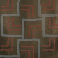 29.8*29.8 TIGUA BROWN INS B, dekoruota akmens masės plytelė