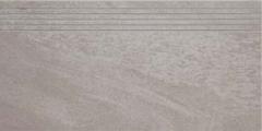29.8*59.8 MASTO GRYS STOP POLPOL, akmens masės pakopa