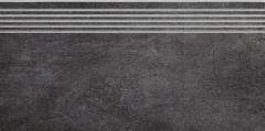 29.8*59.8 TARANTO GRAFIT STOP MAT akmens masės pakopa Akmens masės apdailos plytelės