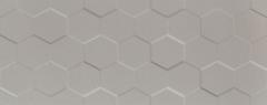 29.8*74.8 S- ELEMENTARY GREY HEX STR, tile