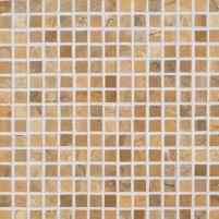 30*30 1297 MUSTARD (2*2) MARBLE, akmens mozaika Отделочные плитки керамогранита