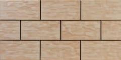 300*148*9 7337 CER 11 CAPPUCINO, klink. tile Klinkerinės decoration of tiles