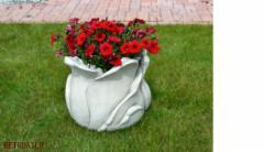 Concrete elementas Flowerpot , H-38 cm Decorative concrete products