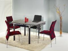 Valgomojo stalas Kent juodas