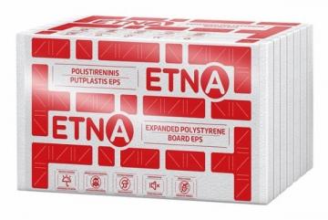 Polistireninis putplastis ETNA EPS 80 (1200x600x50) frezuotas