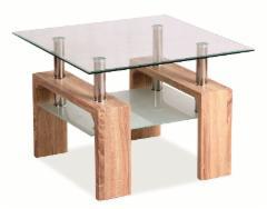 Svetainės staliukas Lisa D Basic sonoma Website tables