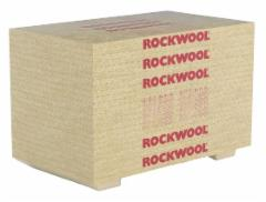 Stone wool insulation slabs Roofrock 30E (160mm) Stone wool insulation in the roof of the match