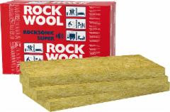 Stone wool insulation ROCKSONIC SUPER 50x565x1000 Stone wool insulation in general builders