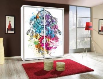 Cupboard Penelopa 155 su Grafika Bedroom cabinets