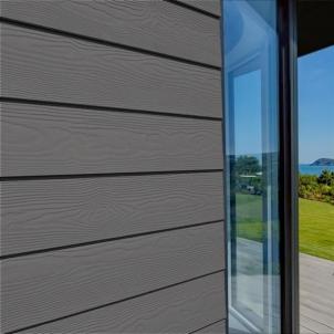 Fibre cement Cedral external cladding C54 (antracito) Fibre cement lining (facade)