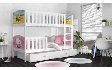 Vaikiška Dviaukštė lova Tami 160x80