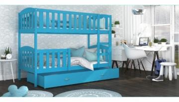 Vaikiška Dviaukštė Lova Kubus 160x80 Vaikiškos lovos