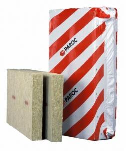 Stone wool insulation PAROC Linio 10 rendered facade slab ( non-combustible stone wool insulation) 200x1200x600 Tinkuojamų fasadų plokštė Facade insulation rock wool rendered