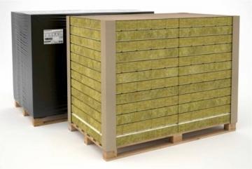 FASROCK G 150x200x1000, nešildomų patalpų šilumos ir garso izoliacija Facade insulation rock wool rendered